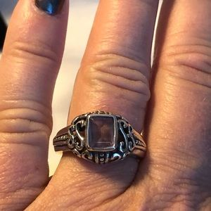 Jewelry - Sterling silver/ amethyst ring